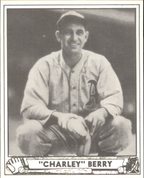 1940 Play Ball #190 Charley Berry