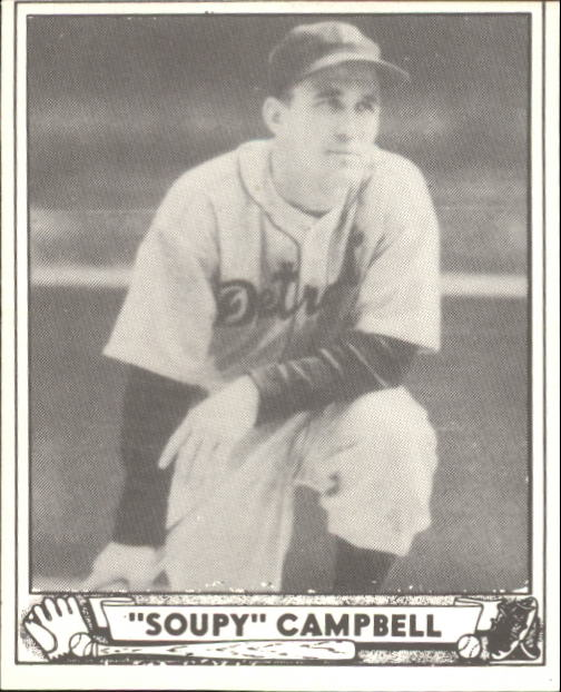 1940 Play Ball #200 Soup Campbell RC