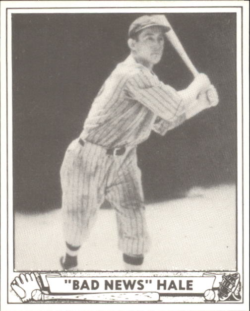 1940 Play Ball #203 Bad News Hale RC