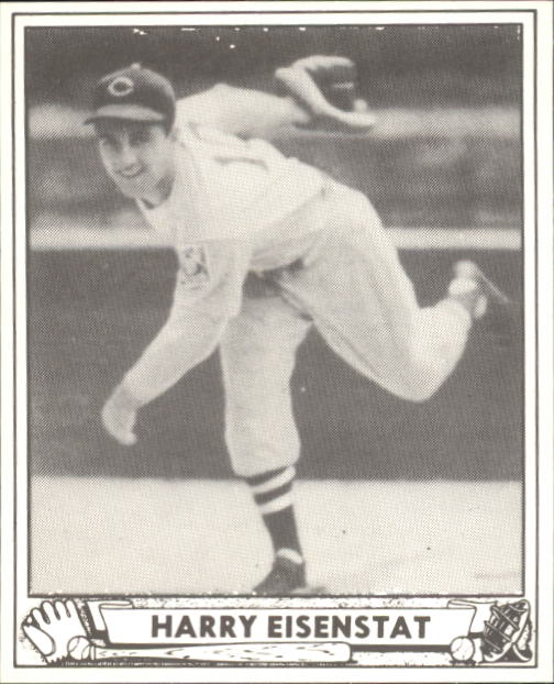 1940 Play Ball #204 Harry Eisenstat RC