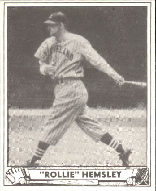 1940 Play Ball #205 Rollie Hemsley RC
