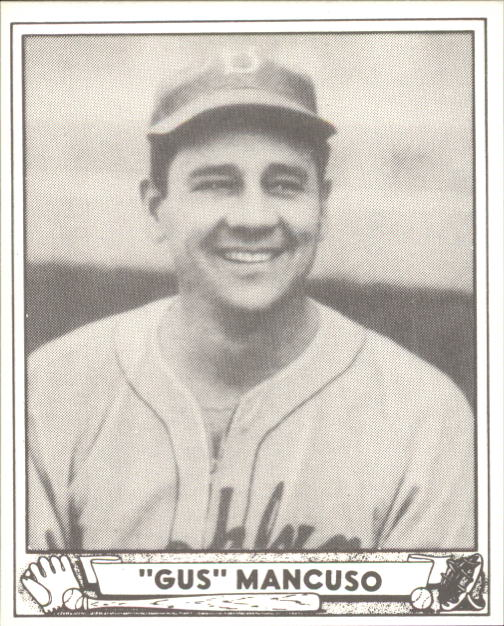 1940 Play Ball #207 Gus Mancuso