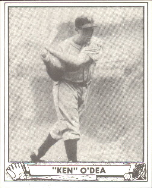 1940 Play Ball #214 Ken O'Dea RC