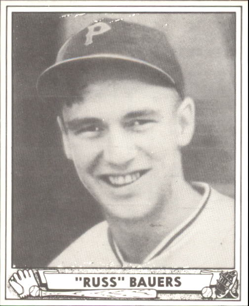 1940 Play Ball #219 Russ Bauers RC
