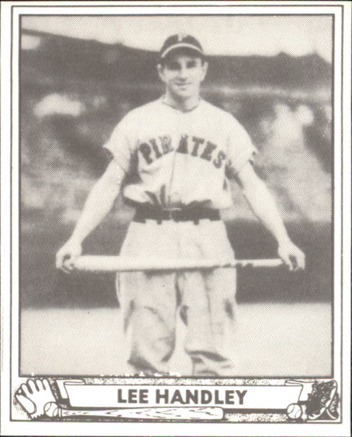 1940 Play Ball #221 Lee Handley RC