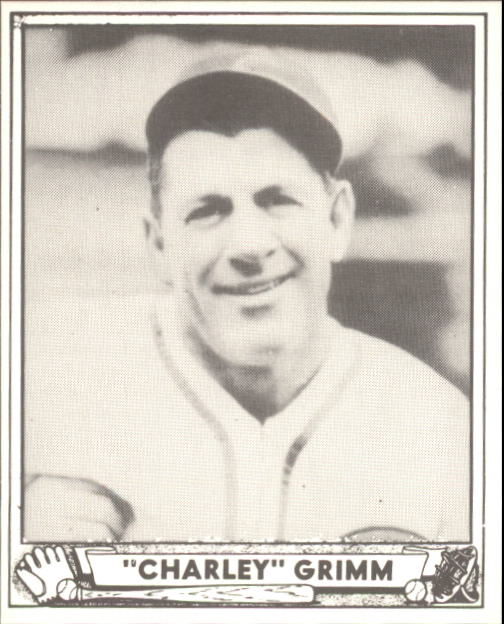 1940 Play Ball #228 Charlie Grimm