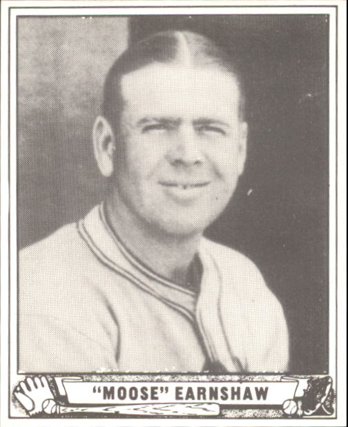 1940 Play Ball #233 George Earnshaw