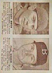 1941 Double Play #15 Mickey Owen/Paul Waner