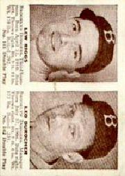 1941 Double Play #141 Lew Riggs/Leo Durocher