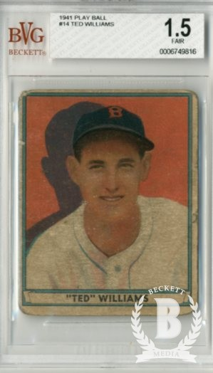 1941 Play Ball #14 Ted Williams