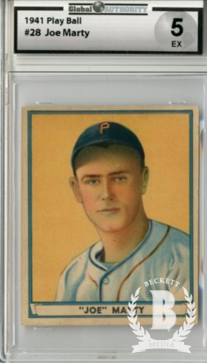 1941 Play Ball #28 Joe Marty