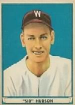 1941 Play Ball #46 Sid Hudson RC