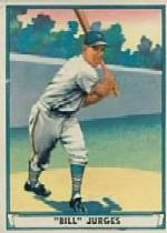 1941 Play Ball #59 Bill Jurges front image