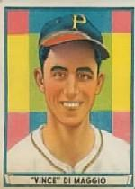 1941 Play Ball #61 Vince DiMaggio RC