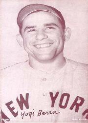 1947-66 Exhibits #20A Yogi Berra