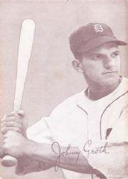 1947-66 Exhibits #86 Johnny Groth front image
