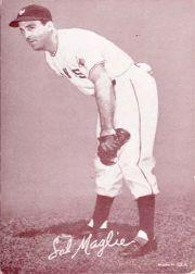 1947-66 Exhibits #142 Sal Maglie