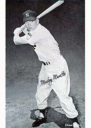 1947-66 Exhibits #146C Mickey Mantle Batting Full (circa 1964-66)