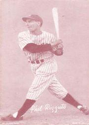 1947-66 Exhibits #187B Phil Rizzuto/(larger photo)