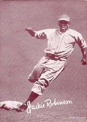 1947-66 Exhibits #193 Jackie Robinson
