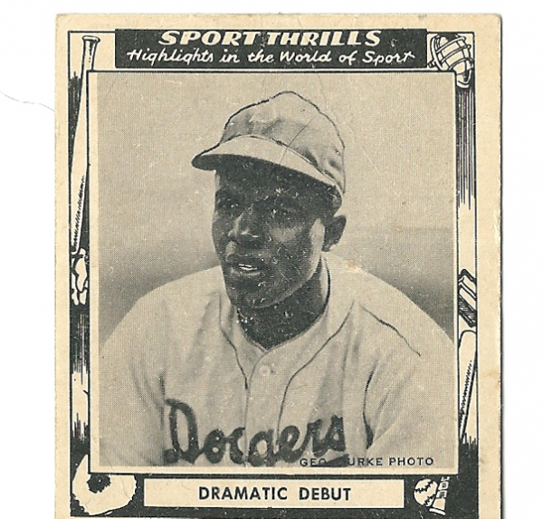 1948 Swell Sport Thrills #3 Dramatic Debut:/Jackie Robinson ROY