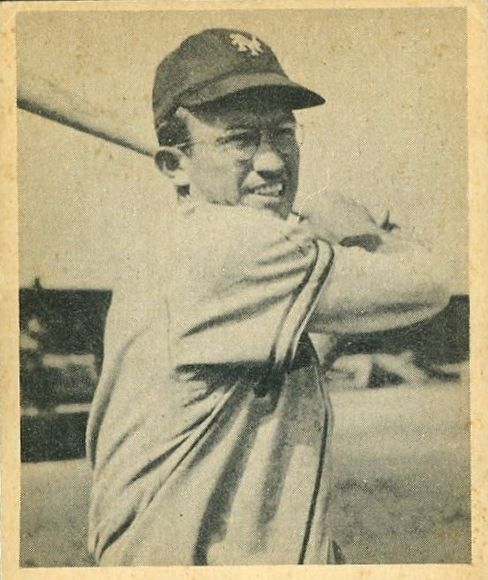 1948 Bowman #32 Bill Rigney RC
