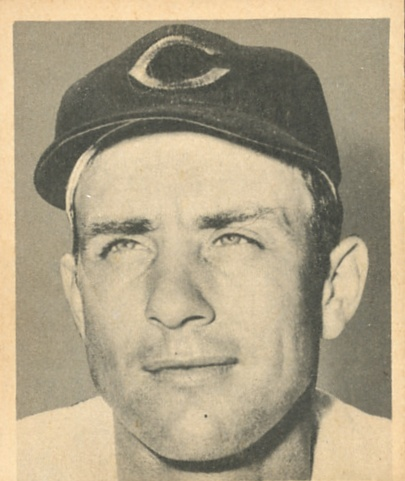 1948 Bowman #44 Johnny Wyrostek RC