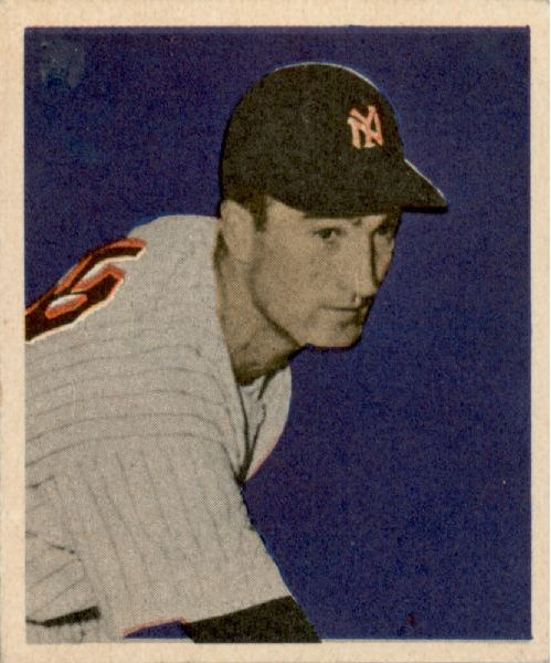 1949 Bowman #3 Bob Porterfield RC