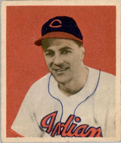 1949 Bowman #11 Lou Boudreau MG RC