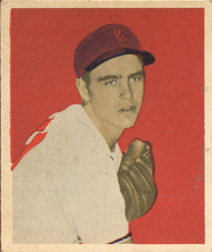 1949 Bowman #15 Ned Garver RC