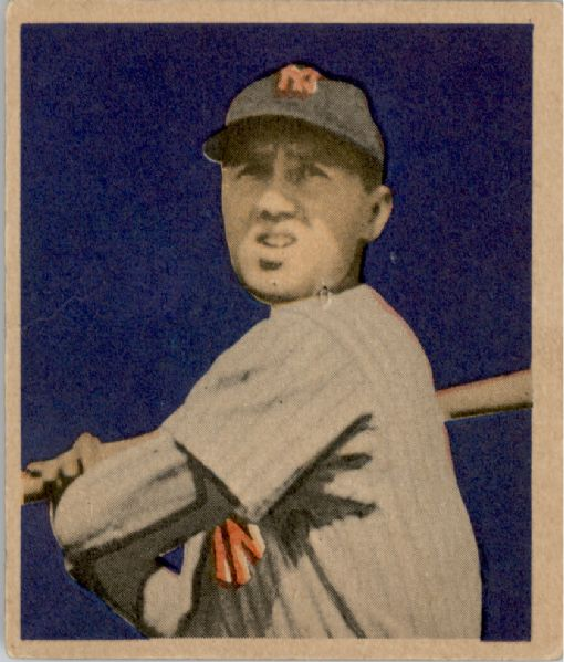 1949 Bowman #19 Bobby Brown RC
