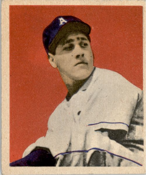 1949 Bowman #25 Carl Scheib RC