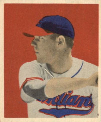 1949 Bowman #43 Dale Mitchell RC