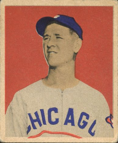 1949 Bowman #52 Johnny Schmitz RC