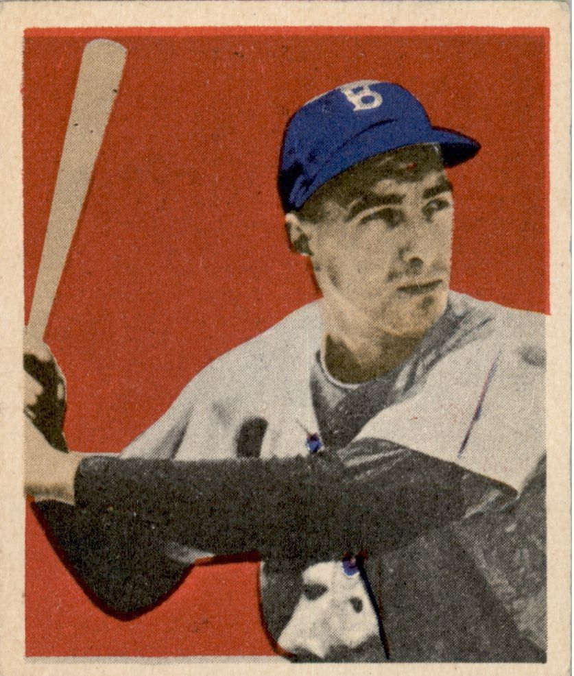 1949 Bowman #73 Billy Cox RC