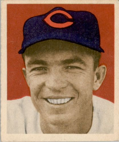 1949 Bowman #81 Virgil Stallcup RC
