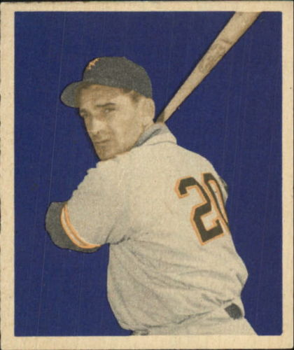1949 Bowman #101 Sid Gordon