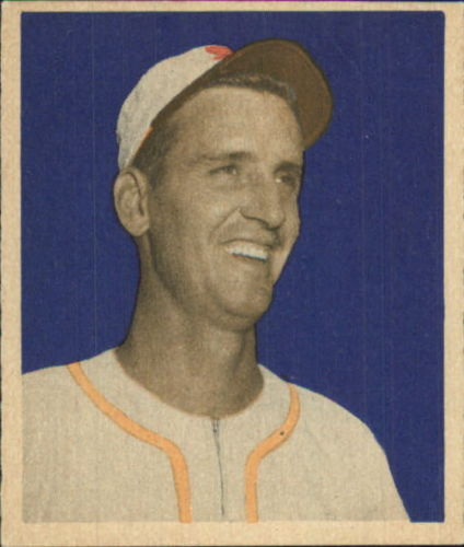 1949 Bowman #105 Bill Kennedy RC