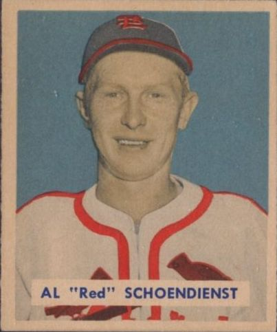 1949 Bowman #111 Red Schoendienst