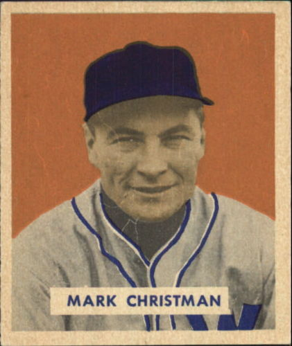 1949 Bowman #121 Mark Christman RC