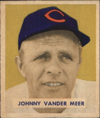 1949 Bowman #128 Johnny VanderMeer