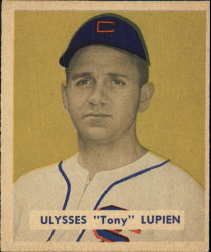 1949 Bowman #141 Tony Lupien RC