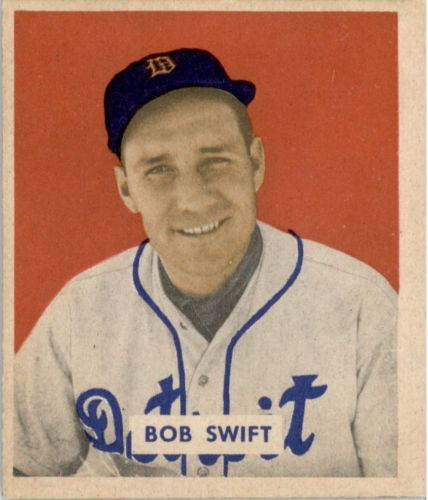 1949 Bowman #148 Bob Swift RC