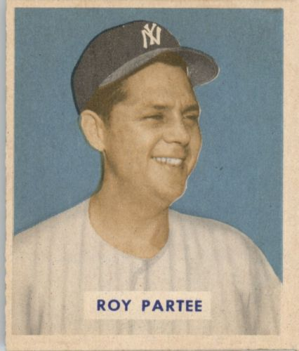 1949 Bowman #149 Roy Partee RC