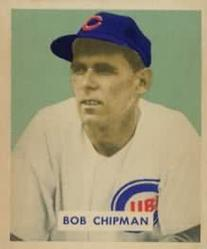 1949 Bowman #184 Bob Chipman RC
