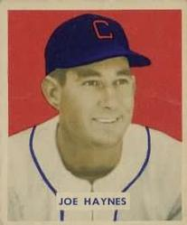 1949 Bowman #191 Joe Haynes RC