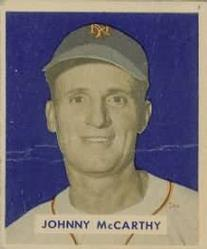 1949 Bowman #220 Johnny McCarthy