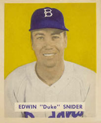1949 Bowman #226 Duke Snider RC