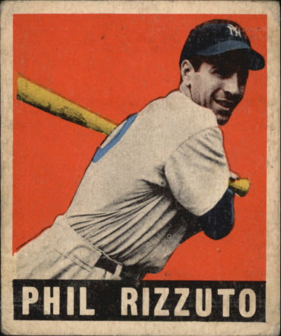 1949 Leaf #11 Phil Rizzuto
