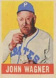 1949 Leaf #70 Honus Wagner